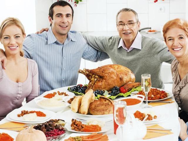 le diner de famille peut être un bon moment pour l'annonce